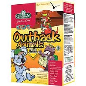 Orgran Outback animals de vainilla-cookies Caja 175 g