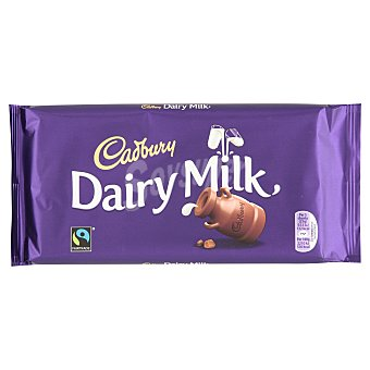 Cadbury Dairy Milk Chocolate con leche tableta 200 g