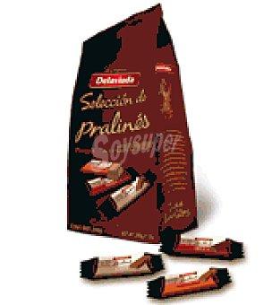 Delaviuda Surtido porciones Pralinés de café, avellana y trufa 200 g