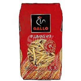Gallo Plumas Nº 3 Paquete 500 g + 33% Gratis