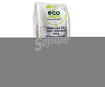 Ecocesta Semillas de lino dorado de cultivo ecológico 500 gramos