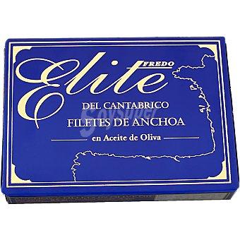 ELITE Filetes de anchoa en aceite de oliva Lata 53 g neto escurrido