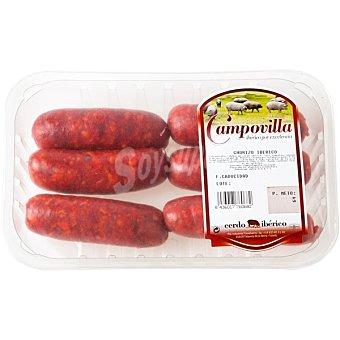 CAMPOVILLA Chorizo fresco de cerdo ibérico Bandeja 450 g