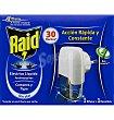 Insecticidda eléctrico líquido Aparato + recambio Raid