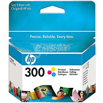 HP Nº 300 cartucho tricolor