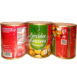 Condis Aceitunas Pack 3 unidades 150 g