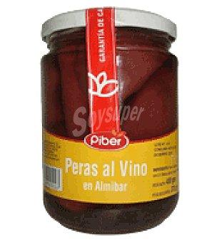 Piber Peras al vino 270 g