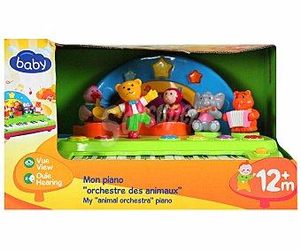 BABY Teclado con Orquesta de Animales bailarines 1 Unidad