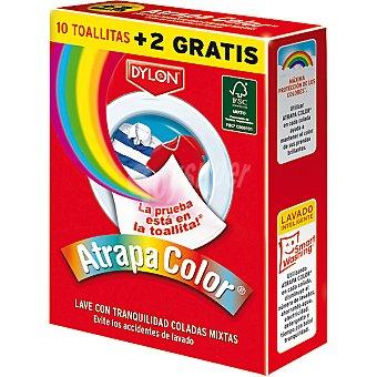 Dylon Toallitas anti-transferencia de color + 2 gratis Caja 10 unidades
