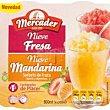 Sorbete mandarina o fresa Pack 4 envases x 200 ml (800 ml) Mercader