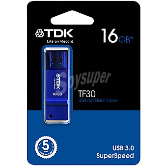 TDK TF-30 Pen Drive 16 GB color azul