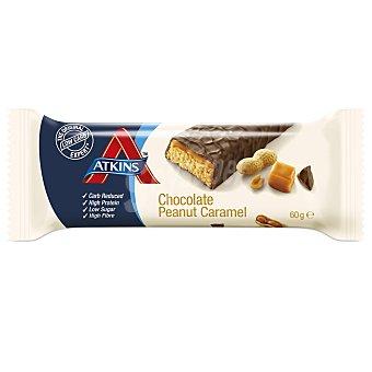 ATKINS ADVANTAGE Barrita snacks de chocolate cacahuete y caramelo Envase 60 g