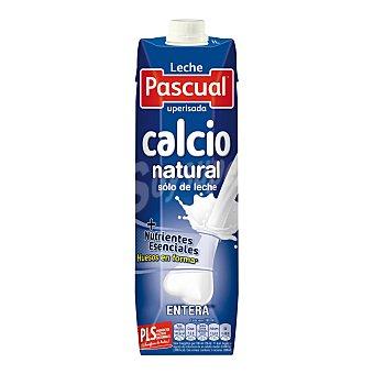 Pascual Leche entera calcio natural Envase 1 l