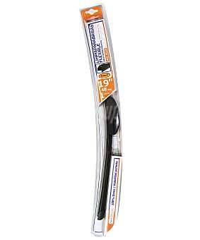 ROLMOVIL Limpiaparabrisas flexible de 480 milímetros de longitud, con 6 adaptadores de ajuste 1 unidad