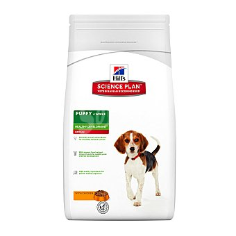 HILL'S SCIENCE PLAN Pienso para perros puppy medianos Hills Science Plan Healthy Development pollo 3 Kg