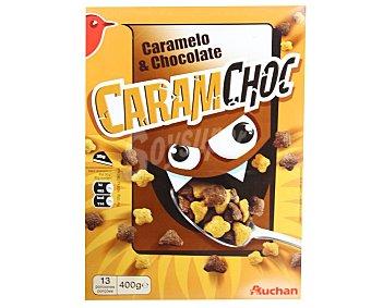 Auchan Cereales con caramelo y chocolate 400 gr