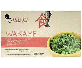 Sushita Alga wakame ultracongelada con salsa de soja 200 g