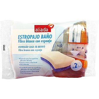 Aliada Fibra baño flexible Envase 2 unidades