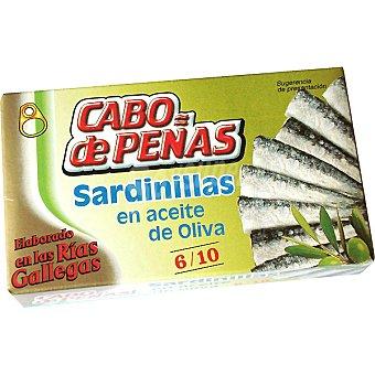 Cabo de Peñas Sardinillas en aceite de oliva 6-10 piezas Lata 85 g neto escurrido