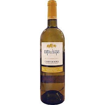 COTO DE HAYAS Vino blanco fermentado en barrica Campo de Borja Botella 75 cl