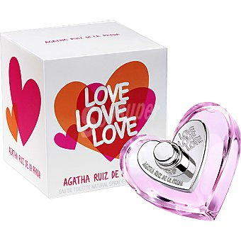 Ágatha Ruiz de la Prada Love Love Love eau de toilette natural femenina Spray 30 ml