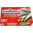 Sardinilla en aceite de oliva lata 57 g neto escurrido RIANXEIRA