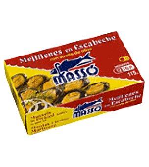 Masso Mejillones en escabeche masso 12/16 69 g