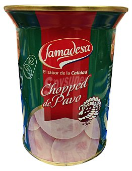 Famadesa Chopped pavo conserva Lata 425 g