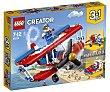 Juego de construcciones 3 en 1 con 200 piezas Audaz avión acrobático, Creator 31076 lego  LEGO