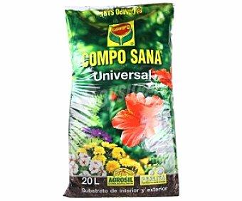 Compo Sustrato universal para plantas de interior y exterior 20 litros