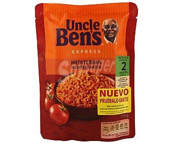 Uncle Ben's Arroz méditerraneo express Envase 250 g