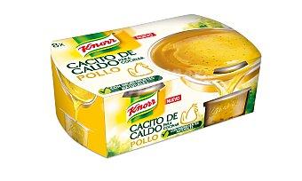 Knorr Cacitos de caldo de pollo knorr 8 ud