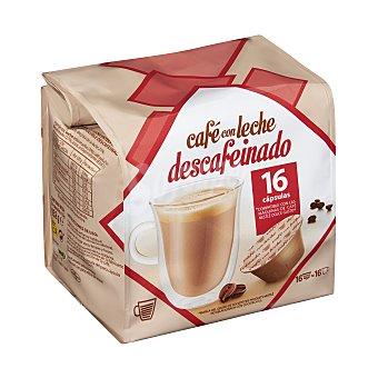 Cocatech Café  con leche descafeinado Paquete 16 u