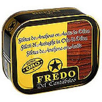 FREDO DEL CANTABRICO Filetes de anchoa en aceite de oliva Lata 205 g neto escurrido