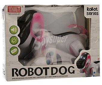 YUSHIXING Perro robot salvaobstáculos con luces y sonidos 1 unidad.