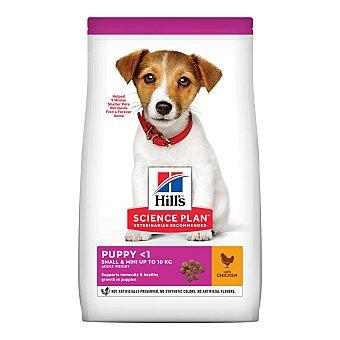 Hill's Science plan puppy mini pienso superior para perros cachorros de raza mini con pollo Bolsa 1,5 kg