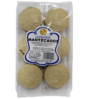 Doramas Mantecadas de almendras limon 350 g