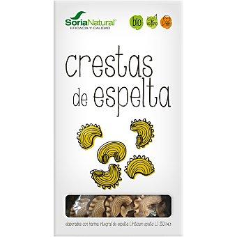 Soria Natural Crestas elaboradas con harina integral de espelta ecológicas Envase 250 g