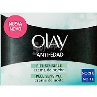 Olay Crema antiedad de noche piel sensible Tarro 50 ml