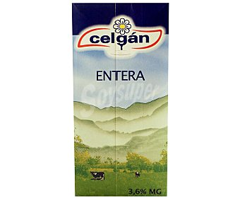 Celgán preparado lacteo de leche entera envase 1 l