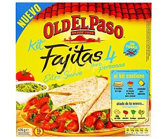 Old El Paso Kit fajita extra suave 476 g