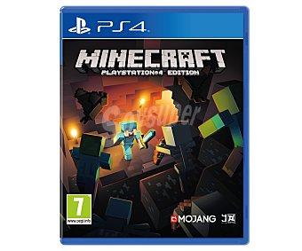 Estrategia Videojuego Minecraft para PS4. Género: estrategia, gestión, construcción. Recomendación por edad PEGI:+7 - 1 Unidad 1u