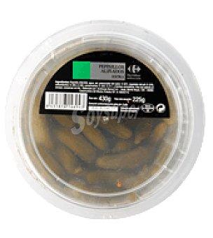 Carrefour Pepinillos en vinagre Tarrina de 185 gr
