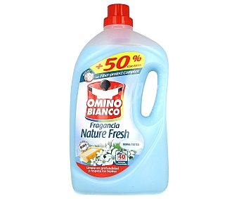 Omino Bianco Detergente líquido Nature Fresh garrafa 40 dosis