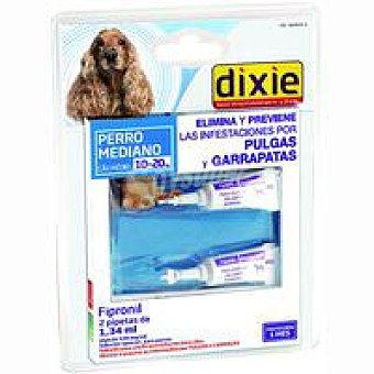 Dixie Pipetas Fripronil 10-20 kg Pack 1,34 ml