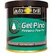 Ambientador gel en lata aroma pino Envase 80 gr Autobrill