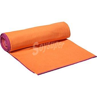 Casactual Micro grande toalla microfibra naranja y morado