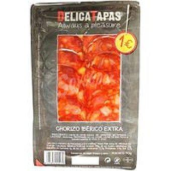DELICATAPAS Chorizo ibérico de cebo Sobre 40 g