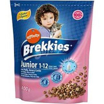 Brekkies Affinity Alimento gato junior Paquete 400 g