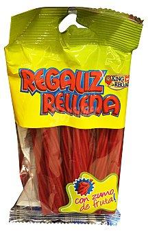 KING REGAL Regaliz relleno con zumo de frutas  Paquete de 150 g